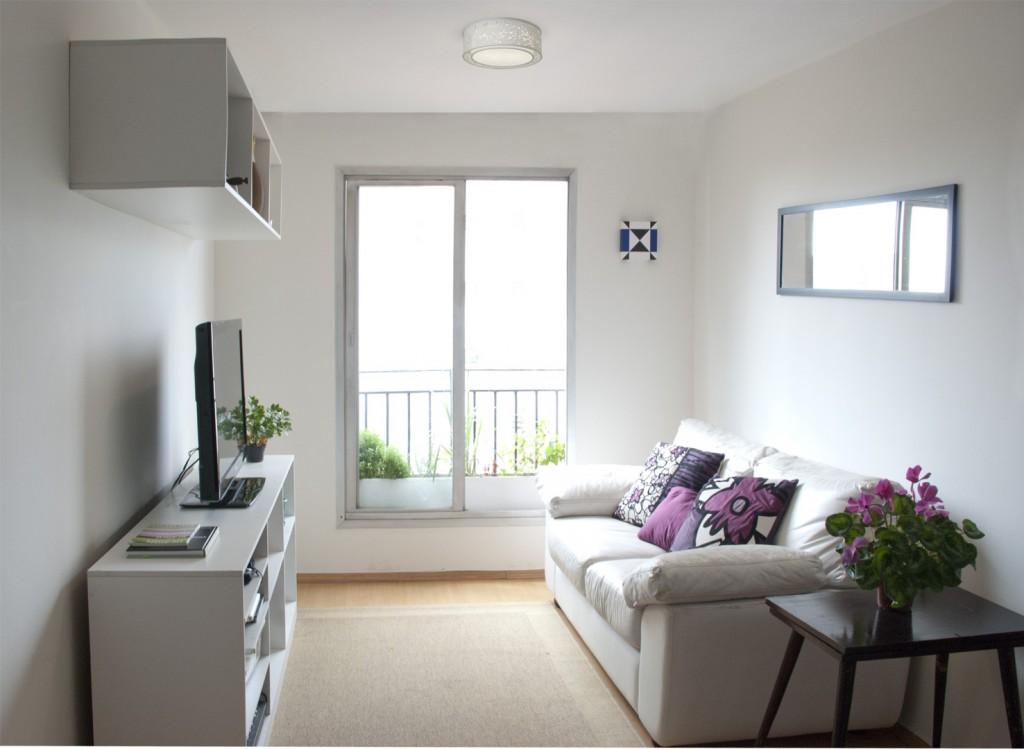 5 dicas para decorar salas pequenas art maison decora o for Salas modernas para casas pequenas