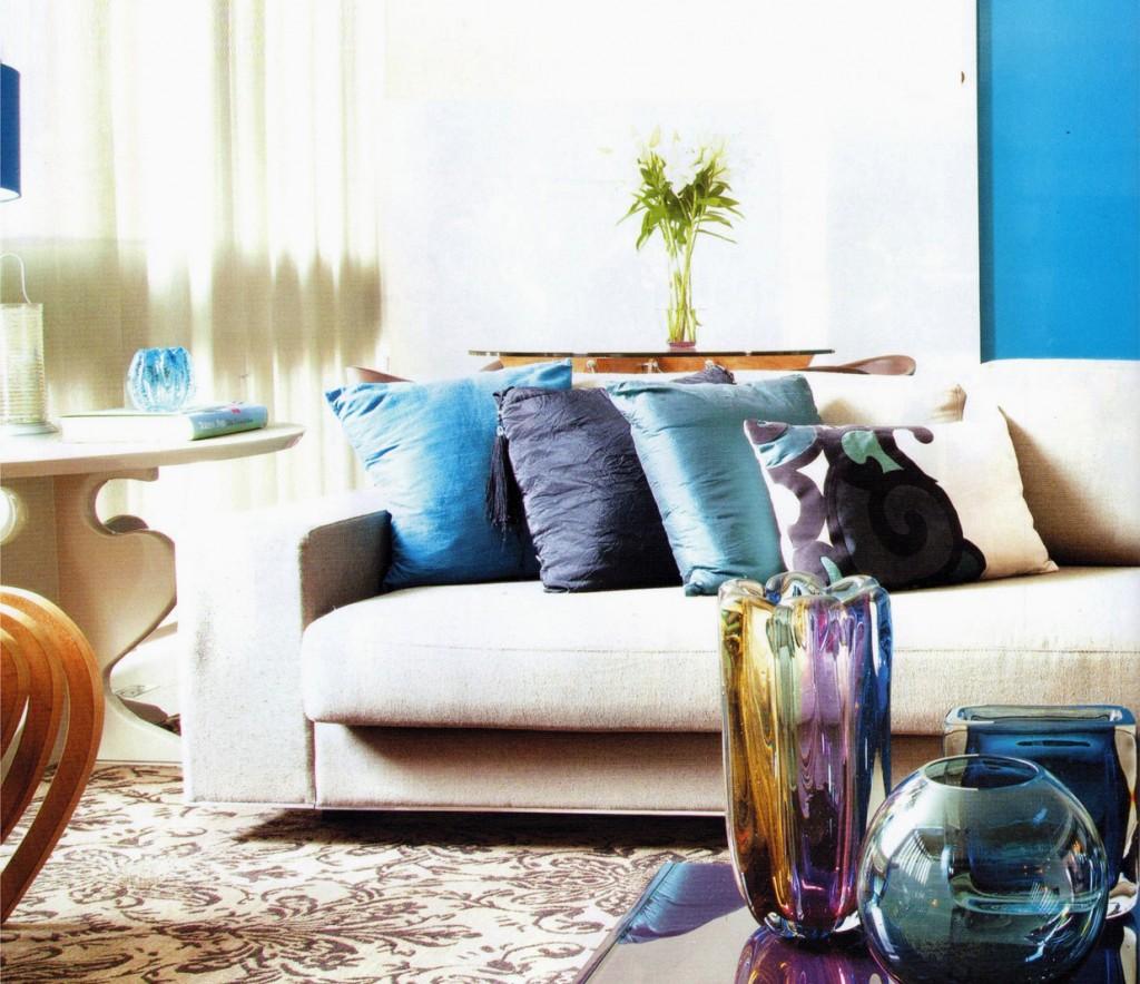 Resultado de imagem para decoraçao com almofadas