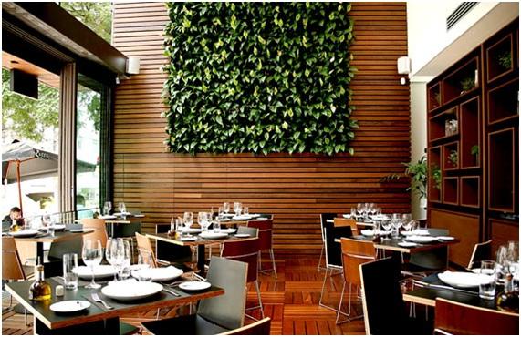 que para ter uma parede com plantas, é necessária a contratação de