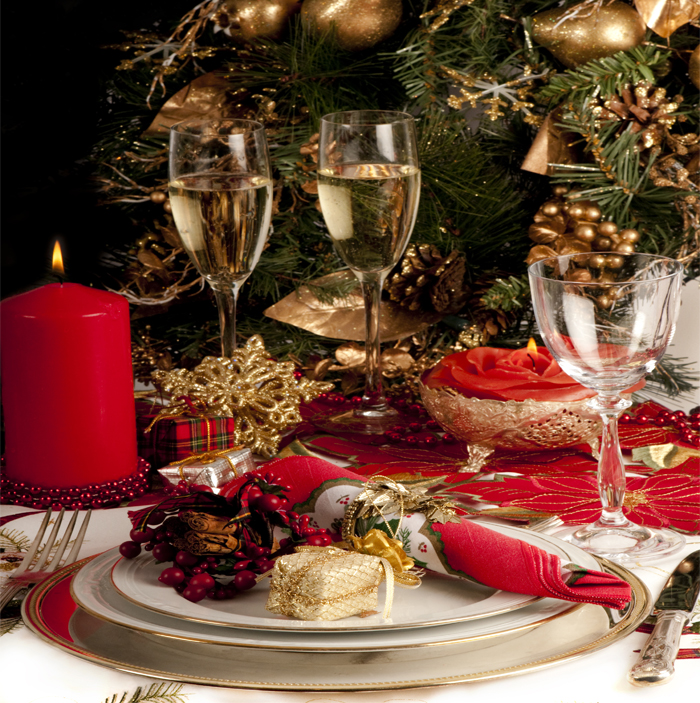 Decoracao De Sala Natal ~  de Natal para sala de jantar com cobre # decoracao de sala natal