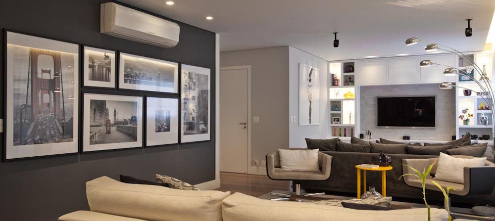 Pintura para salas 2015 v rias id ias de - Pinturas modernas para sala ...