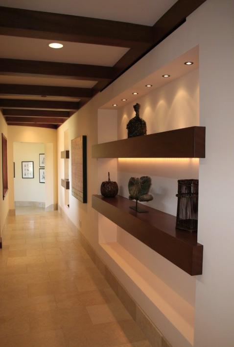 8 dicas para valorizar a decora o de corredores for Nicchie nelle pareti