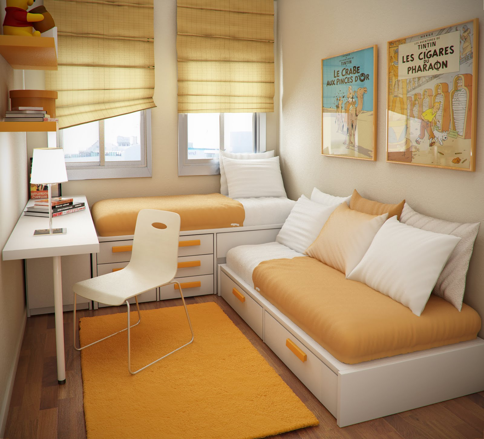 Dicas Como Decorar Apartamentos Pequenos Art Maison  ~ Decoração De Quarto De Bebe Em Apartamento Pequeno
