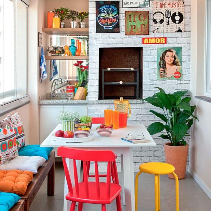 Cozinha Colorida: Modelos Para Se Inspirar