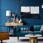 Cor azul na decoração