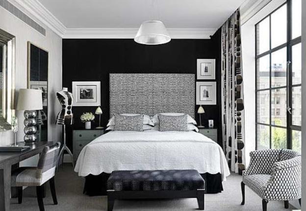 decoracao-neutra-preto-branco-quarto