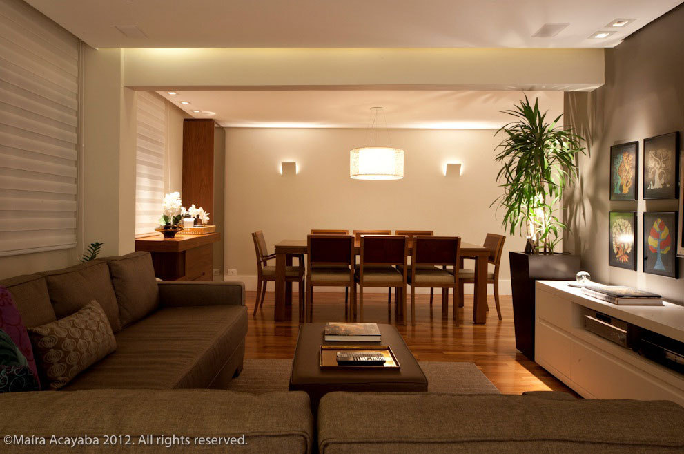 Luminaria Pendente Para Sala De Tv ~ sala de jantar (luminária td60 optical branco)  art maison  Art